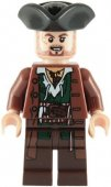 Lego Figur Pirates Of The Caribbean SCRUM Kapten AJF1