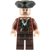 Lego Figur Figurer - Pirates Of The Caribbean - Scrum