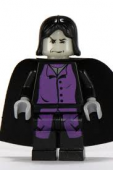 Lego Figurer Harry Potter Snape mörklila 4751 Klassisk