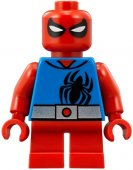 Lego Äkta  Figurer Figur Spiderman Scarlet Spider Short legs SHE 13