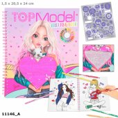 Top Model Pyssel bok Colouring book 2020 June