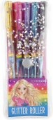 TOP Model Färgpennor 5st Glitter Roller Pennor