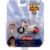 VN Leksaker Disney Toy Story 4 Minis Figur Duke + Bike