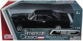 VN Bilar Cars metall USA 1:24 Old Timers 20cm Dodge Coronet svart