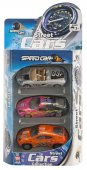 Leksaksbilar 3-Pack - Metall - Street racing 1:64
