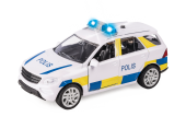 Resque Team Police - Polisbil 12cm A Light & Sounds