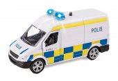 Resque Team Police - Polisbil Van Light & Sounds 13cm