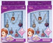Disney Sofia The First - 1st Smyckeset med charms mm