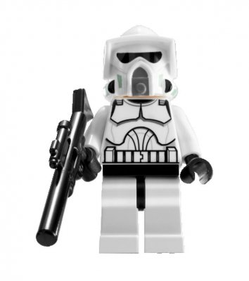Lego Figurer Star Wars Arf Trooper 7913 LF51-65