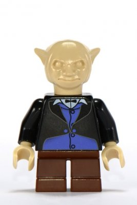 Lego Figurer Harry Potter Goblin Svart Klassisk 4714