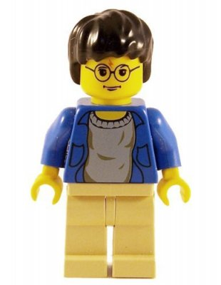 Lego Figurer Harry Potter Blå Beige Klassisk