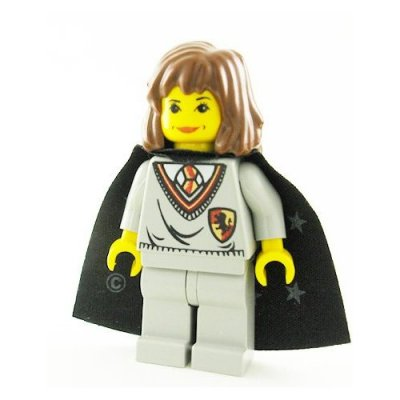 Lego Figurer Harry Potter Hermione grå Klassisk