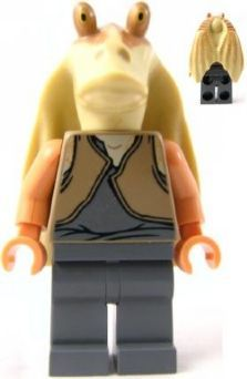 Lego Star Wars Jar Jar Binks 7929 LF51-81A