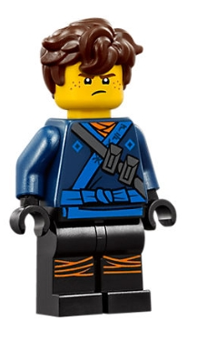 LEGO Ninjago - Figur - Jay Hair 70617 The Movie