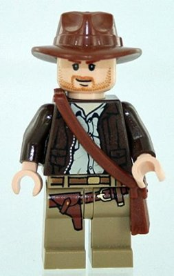 Lego Indiana Jones - Jones Himself med Axelväska
