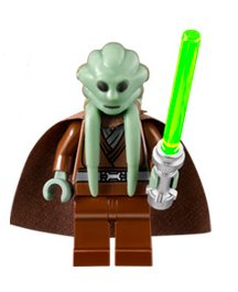 Lego Star Wars Figurer Kit Fisto 9526