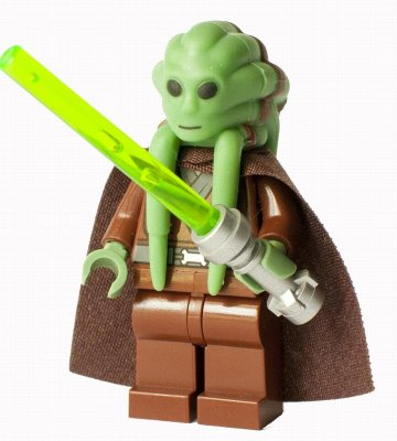 Lego Star Wars Figurer Kit Fisto LF50-56
