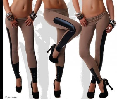 Leggings Tights Club Disco Bruna Small / Medium