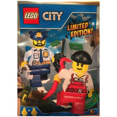 LEGO City Figurer - Tjuv & Polis 951701Limited Edition FP