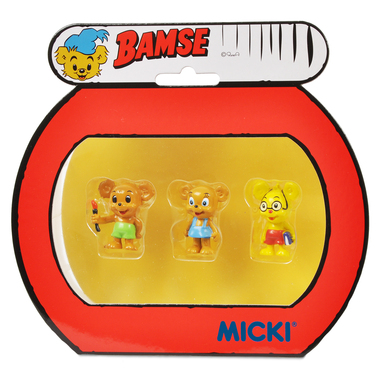 micki bamse figurer