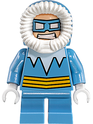 lego Figur Superheroes MIGHTY MICROS Captain Cold LF1T