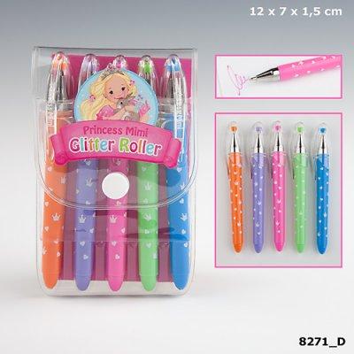 73944d1a4392 My Style Princess Mini Glitter Roller Glitterpennor 5-Pack