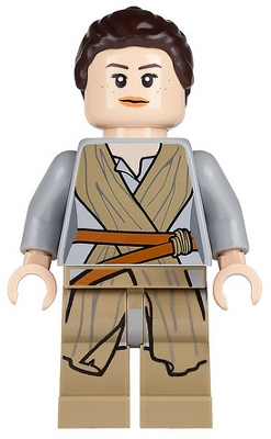 Lego Figurer Star Wars  Force Awaken Ep7 - Rey