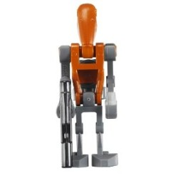 Lego Figurer Star Wars 1st Rocket Battle Droid STW1-14