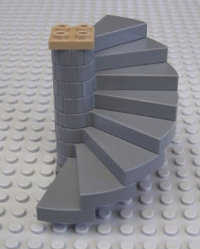 LEGO Figur Trappa Spiral till Harry Potter mm