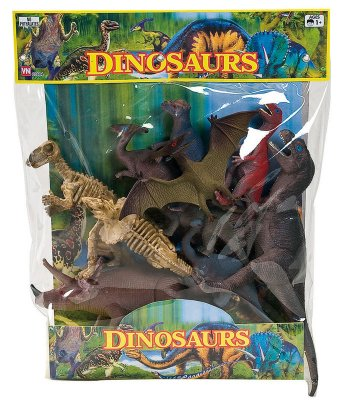 Vn Lek Wild Animals Djur Dino Dinosaurier mm Set 63678 63681